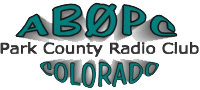 Park County Radio Club Logo