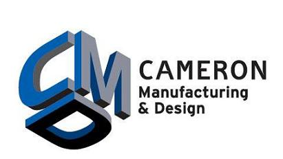 Cameron MAnufacturing and design logo