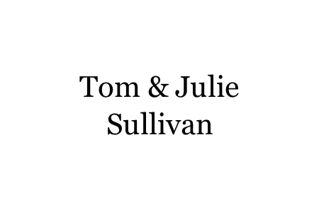 G - Tom & Julie Sullivan